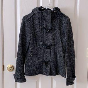 Full Tilt toggle front pea coat